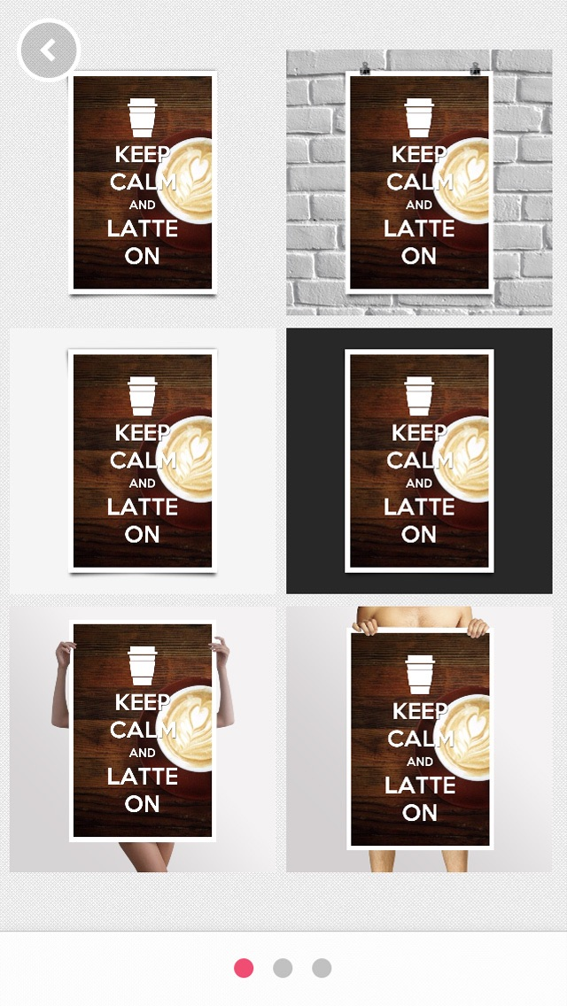 Keep Calm - Turn your instagram, facebook photos into Keep Calm poster with KeepCalmrScreenshot of 4
