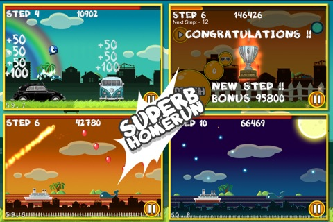 Flick Home Run ! screenshot 4