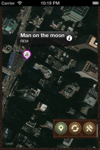 Music Maps screenshot 1
