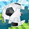 123 足球拼圖 - 拼圖的遊戲為兒童,幼兒和家長! 學習 世界杯2014年在巴西