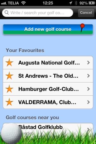Моя игра в гольф погодаСкриншоты 1