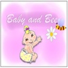 Baby and Bee - Interactive ebook for kids
