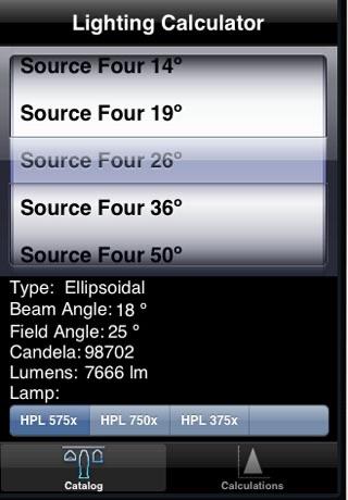 Light Calc screenshot 1