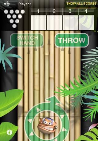 Monkey Bowl Lite - Free Bowling Fun in the Jungle screenshot 4