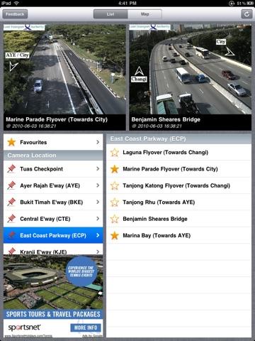 Trafficam SG for iPad (XL) screenshot 1