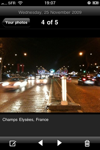 TravelPad Lite : Album photo de voyage screenshot 3