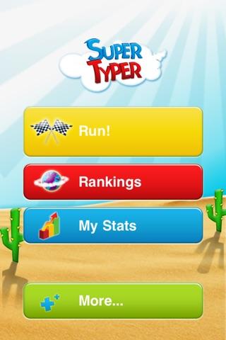 SuperTyper screenshot 2