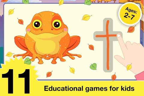 Halloween Learning Games for Preschool and Kindergarten Kids by Abby Monkey® screenshot 1