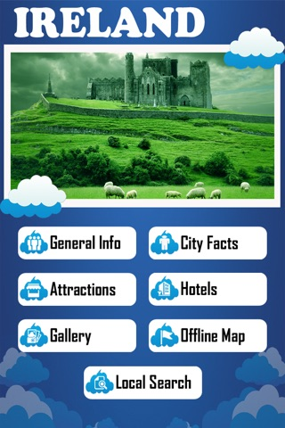 Ireland Offline Map Tourism Guide screenshot 1