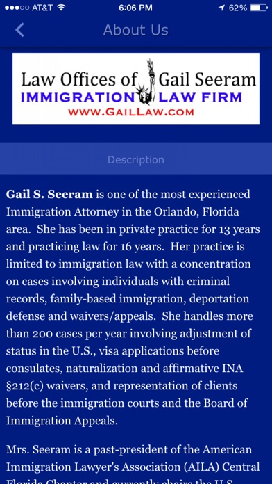 download immigrationINFO - Gail Law apps 3