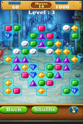 Jewel Quest Match Fun-Switch the Gem and complete the Amazing levels. screenshot 3