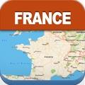 フランスオフライントラベルマップ