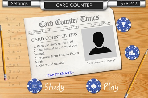 Card Counter screenshot 3