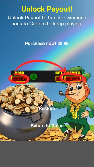 Lucky Leprechaun Slot Machine - Win St Patty's Day Pot of Gold Bonus screenshot three