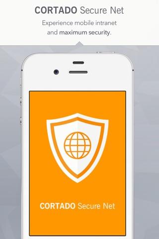 Cortado Secure Net for Cortado Corporate Server screenshot 1