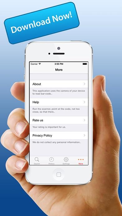 Быстрый QR Scan - Быстрый сканер штрих-кода App.Скриншоты 4