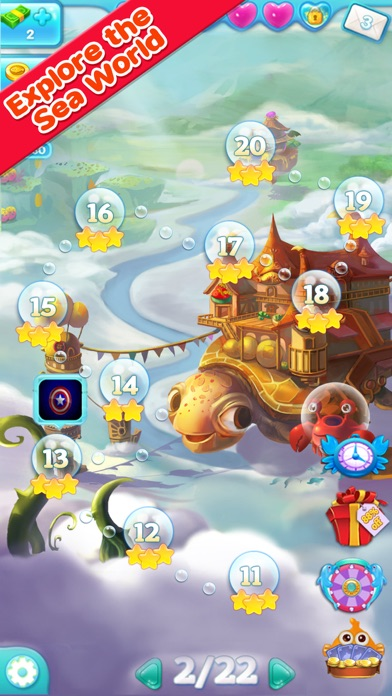 download Marine Adventure -- Collect and Match 3 Fish Puzzle Game for TANGO apps 3