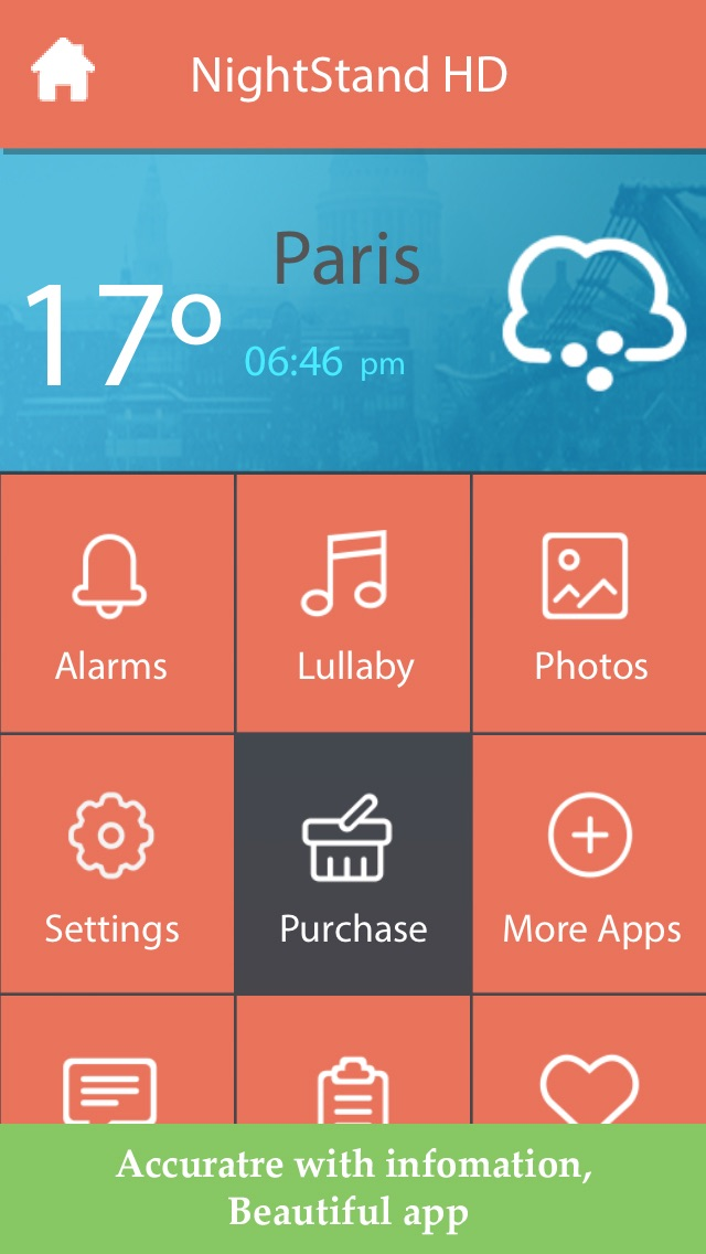 download Night Stand HD - Free Music Alarm Clock with Weather & Sleep Timer apps 3