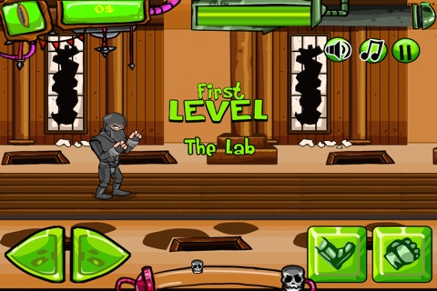 Ninja Cop Clash! screenshot 2