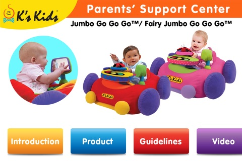 K's Kids Parents' Support Center : Jumbo Go Go Go™ screenshot 1