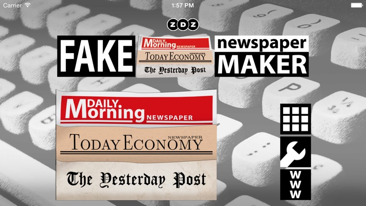 Fake Newspaper Maker Creator by ZDZ Touch & Play S.L.