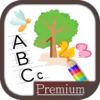 Aprender a escribir letras y números – caligrafía para niños -Premium