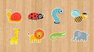 لعبة تركيب صور الحيوانات للأطفال اصوات و اسماءلقطة شاشة3