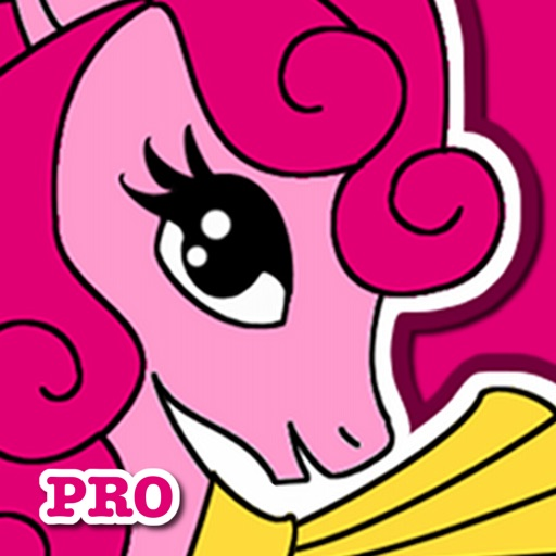 Pony Coloring Games for Girls: My Cute Pony Coloring Book for Little Kids and Toddler who Love Unicorn Ponies and Horse Games iOS App