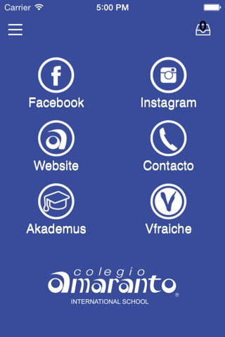 Colegio Amaranto screenshot 1