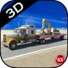 重機輸送トラック - 掘削機 - ロードローラー - クレーン
