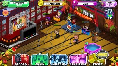 Band Stars Screenshot on iOS