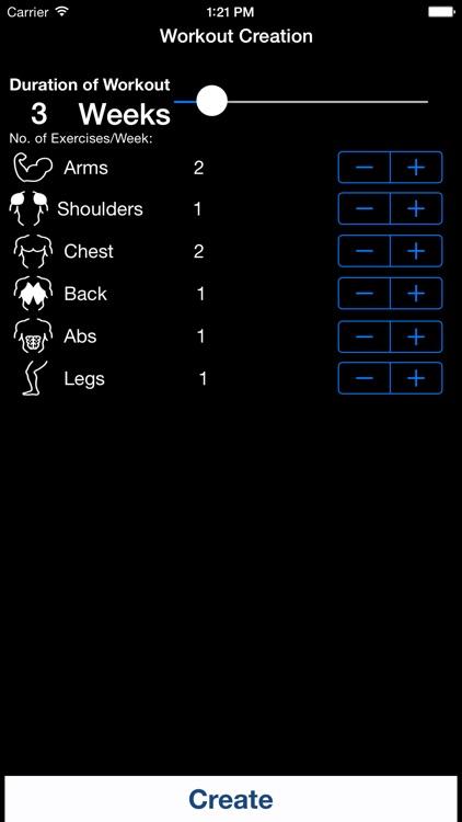 bodysculptapp color coded gym progress tracker gym motivator by