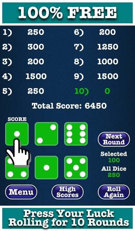 Free Farkle Dice Deluxe Version