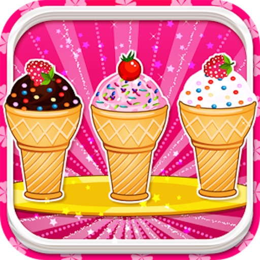 Cooking Ice Cream Cone Cupcake iOS App