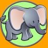 Dschungeltiere und Kinderspiele - kostenlos spielen