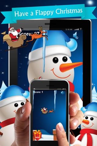 Flappy Christmas - Present Drop! screenshot 2