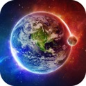 Galaxy Space Wallpapers & Backgrounds - Custom Home Screen Maker with HD Pictures of Astronomy & Planet icon