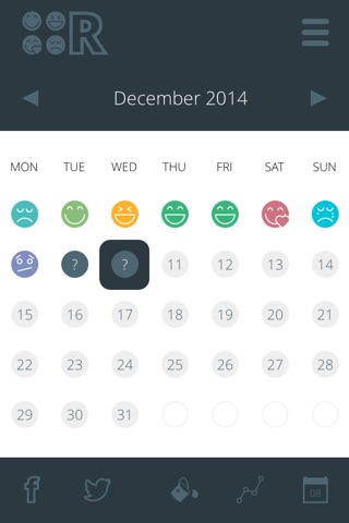 Reflection Calendar screenshot 1