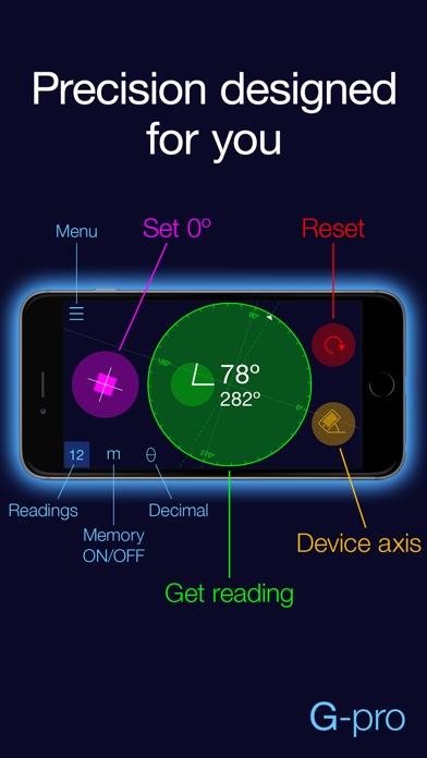 Goniometer Pro Screenshot on iOS