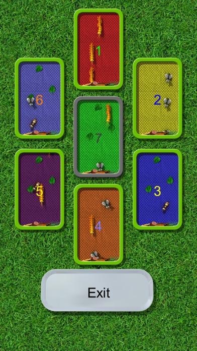 アリ、ハエ、ムカデ。ピクニック昆虫。それら... screenshot1