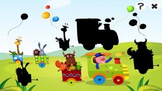 Actif! Jeu Pour Les Enfants À Apprendre et À Jouer Avec la Gare et AnimauxCapture d'écran de 3