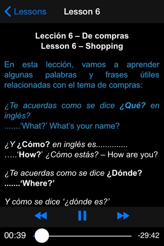 Curso de Ingles en Audio 1 iMansionauto screenshot 2