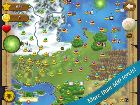Screenshots of Bubble Witch Saga for iPad