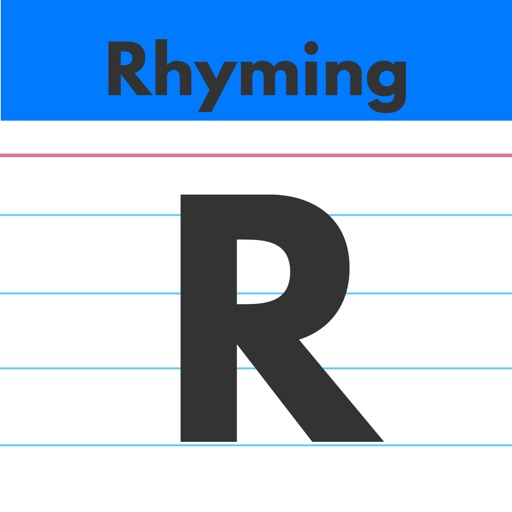 Rhyming Words by Teach Speech Apps - for speech therapy
