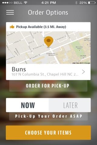 Buns Chapel Hill screenshot 1