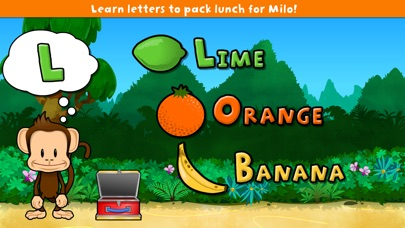 Monkey Preschool Lunchbox Screenshot