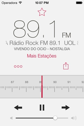 RadioApp - A simple radio for iPhone and iPod touch screenshot 1