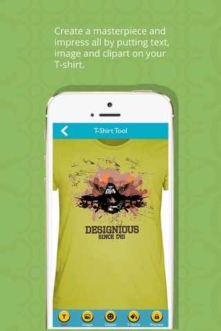 T-Shirt Designer Tool App screenshot 2