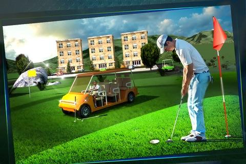 Golf Cart Simulator 3D screenshot 3