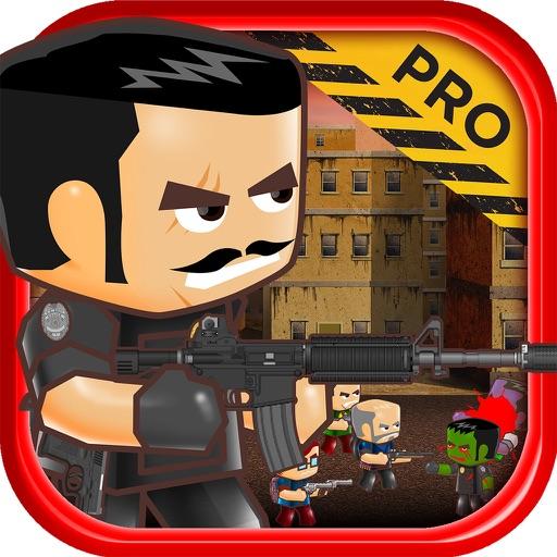 Zombie Block Guy Sniper Shooting Game PRO iOS App